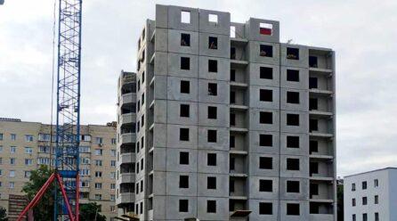 Дом 1.1. Монтаж 10 этажа.